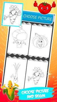 Vegetable Coloring Book screenshot 10