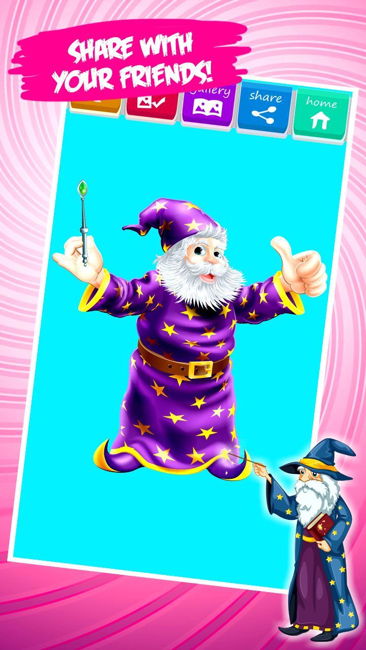 Zauberer Ausmalbilder Für Android Apk Herunterladen