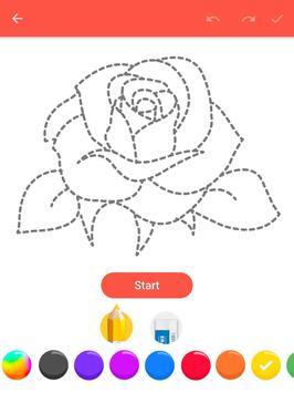 How To Draw Flowers apk screenshot