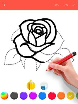 How To Draw Flowers screenshot 17