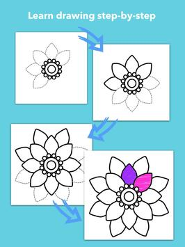 How To Draw Flowers screenshot 18