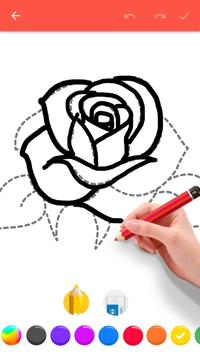 How To Draw Flowers screenshot 1