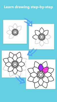 How To Draw Flowers screenshot 2