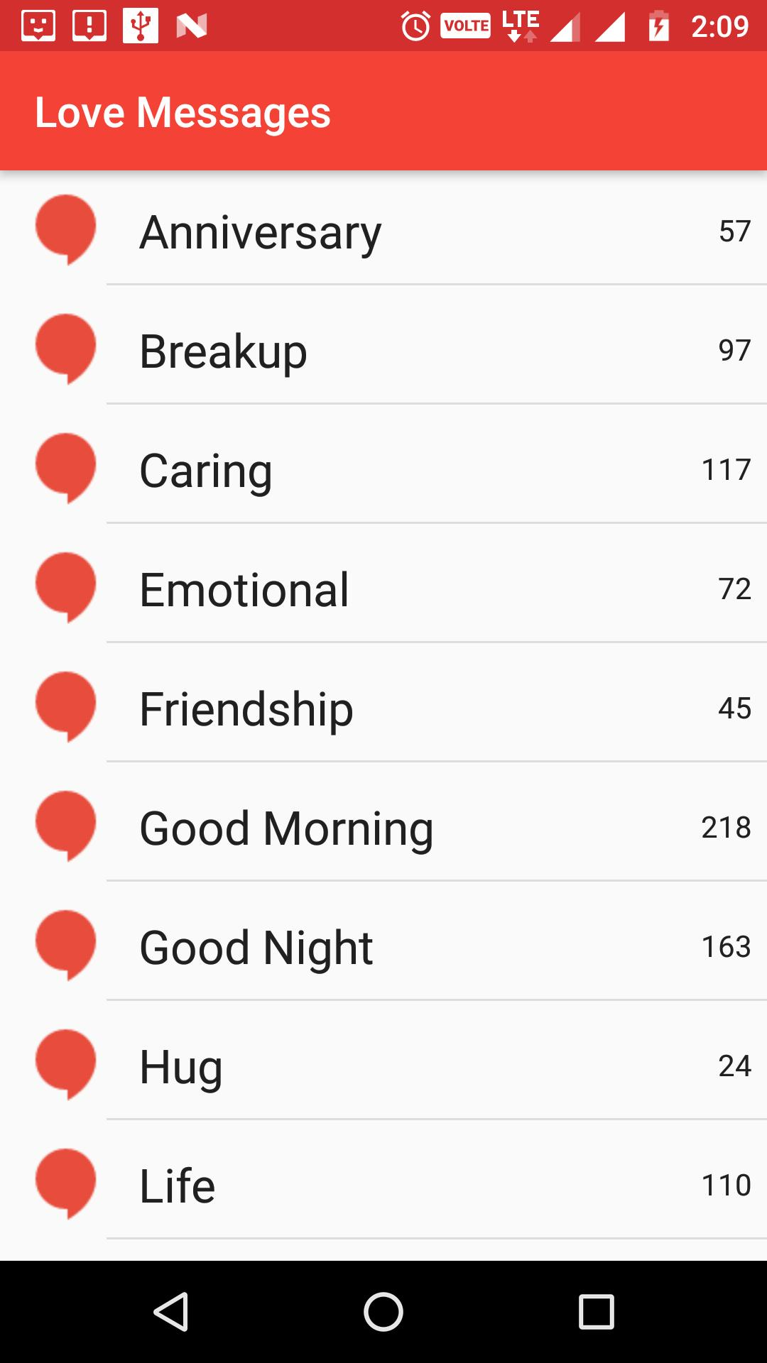 Love SMS Messages 2019 Quotes Collection for Android - APK