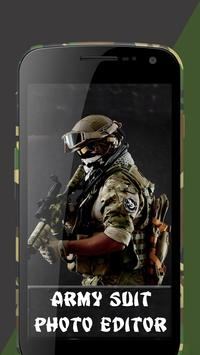 Army Suit Photo Editor poster