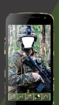 Army Suit Photo Editor screenshot 2