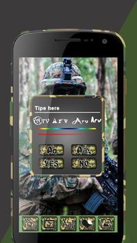 Army Suit Photo Editor screenshot 5