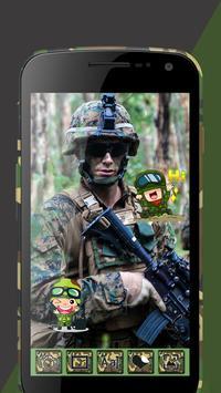 Army Suit Photo Editor screenshot 6
