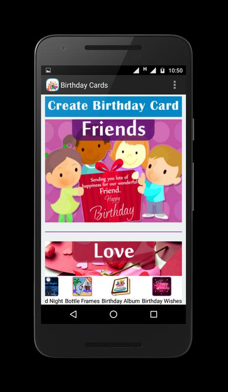 Birthday Cards Poster Screenshot 1 2
