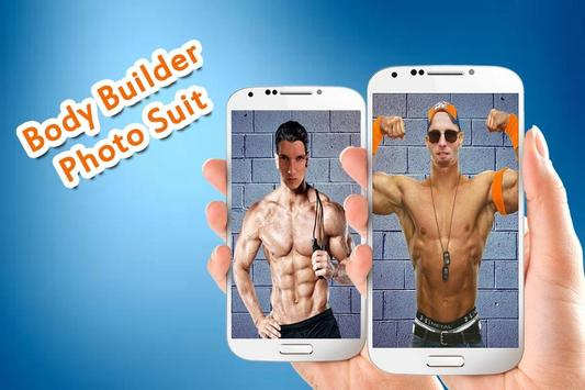 Body Builder Photo Suit poster
