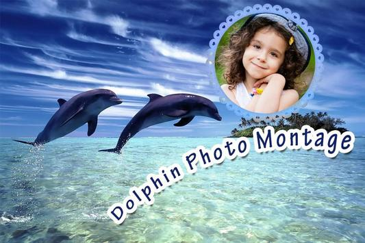 Dolphin Photo Montage poster