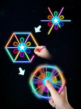 Draw Finger Spinner screenshot 11