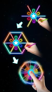 Draw Finger Spinner screenshot 1