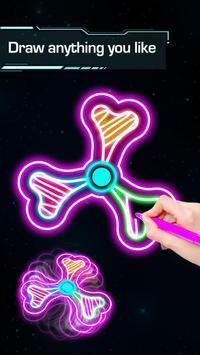 Draw Finger Spinner screenshot 4