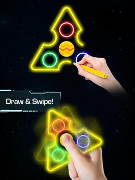 Draw Finger Spinner screenshot 5