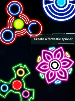 Draw Finger Spinner screenshot 8