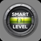 Smart level tool: spirit level - bubble leveling icon