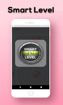 Smart level tool: spirit level - bubble leveling poster