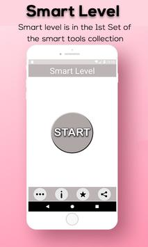 Smart level tool: spirit level - bubble leveling screenshot 1