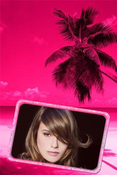Pink Sunset Frame apk screenshot