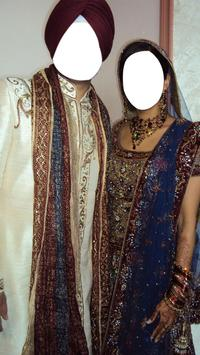 Sikh Wedding Photo Suit poster