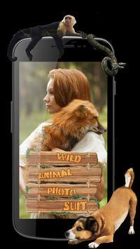 Wild Animal Photo Suit poster