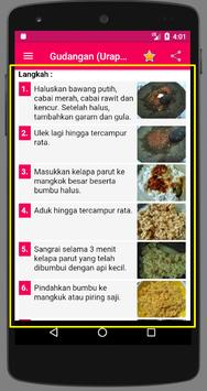 Resep Urap screenshot 4