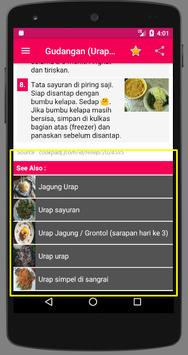 Resep Urap screenshot 5