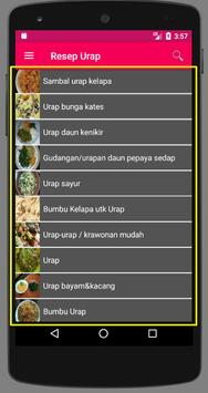 Resep Urap screenshot 1