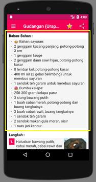 Resep Urap screenshot 3