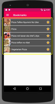 Resep Pizza apk screenshot