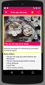 Resep Putu Ayu apk screenshot
