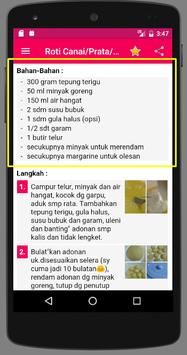 Resep Roti Maryam screenshot 4