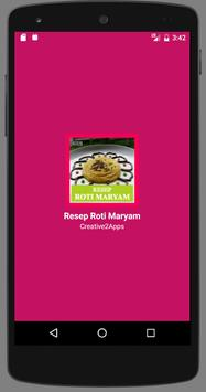 Resep Roti Maryam poster