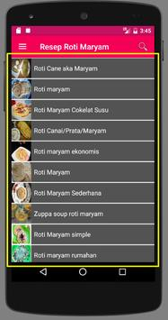 Resep Roti Maryam screenshot 1