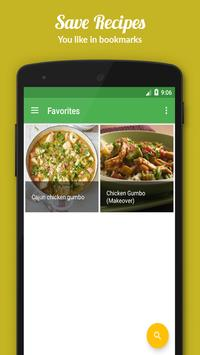 Gumbo Recipes apk screenshot
