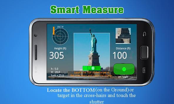 Smart Measure: camera tape measurement app poster