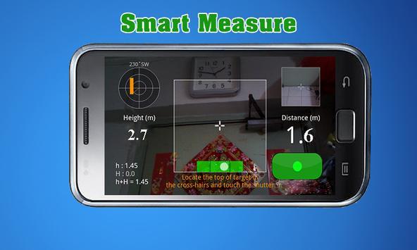 Smart Measure: camera tape measurement app screenshot 1