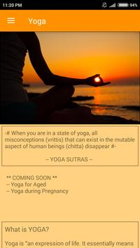Yoga for All- Fitness App poster