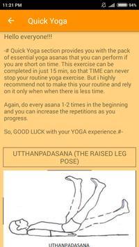 Yoga for All- Fitness App screenshot 4