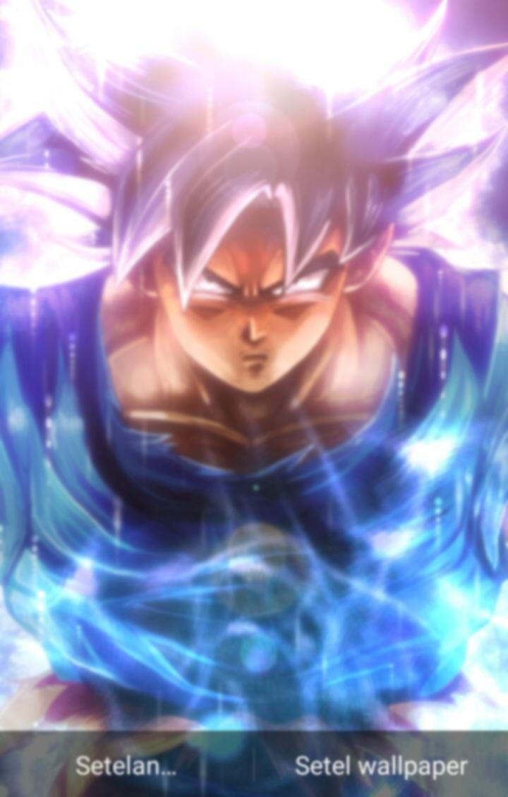 Fanart Ultra Instinct Songoku Live Wallpaper For Android Apk Download