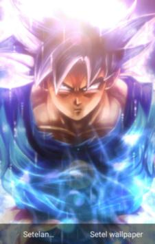 Fanart Ultra Instinct Songoku Live Wallpaper Pour Android