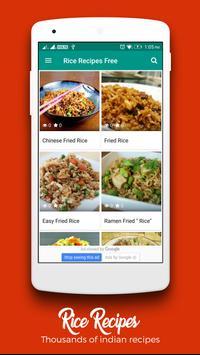 Rice Recipes : Recipe Book poster