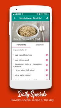Rice Recipes : Recipe Book screenshot 2