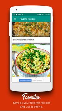 Rice Recipes : Recipe Book screenshot 5