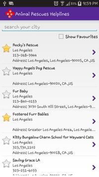 Animal Rescue Helplines apk screenshot
