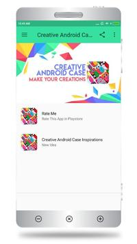 Creative Android Case poster
