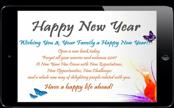 Happy New Year Greetings screenshot 1