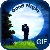 GIF Good Night icon