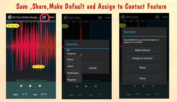 MP3 Cutter apk screenshot